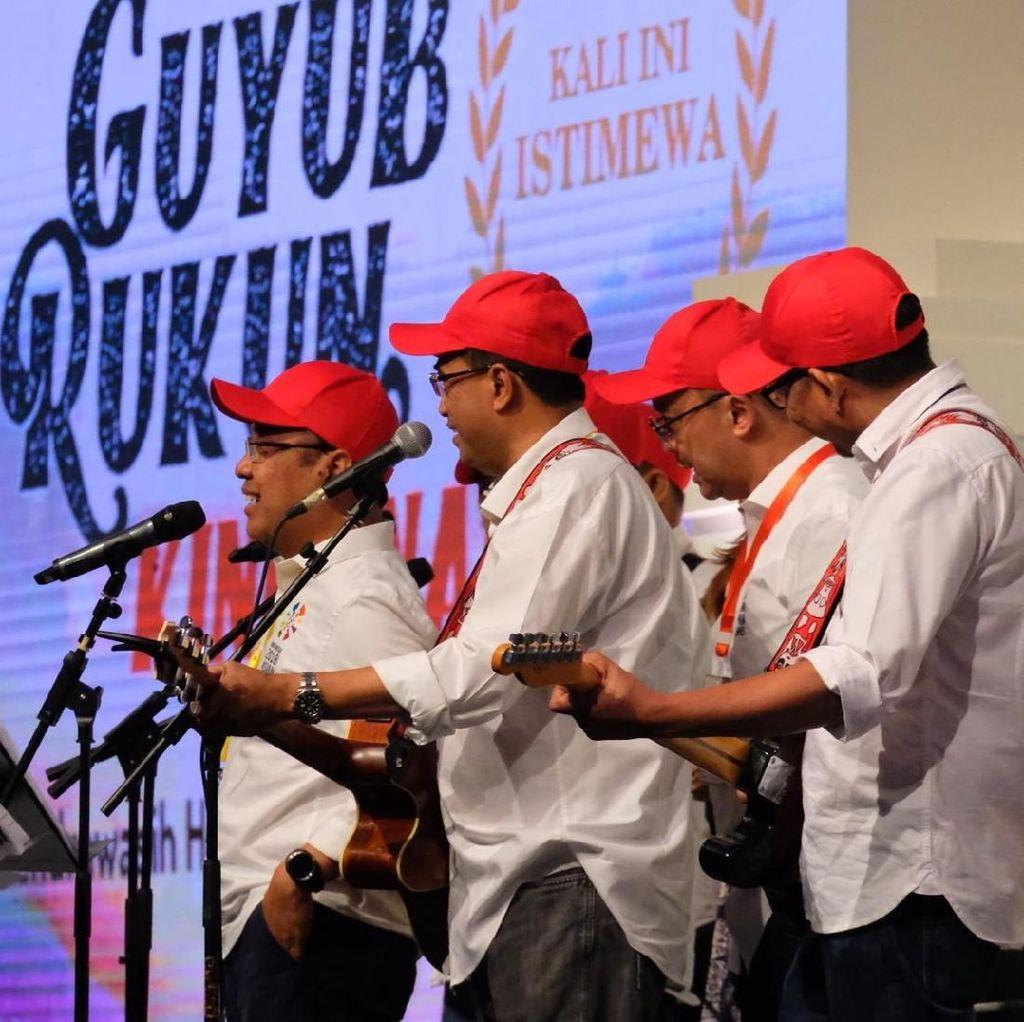Nyanyi di Depan Jokowi, Elek Yo Band: Kalau Kami Bagus Nanti Direshuffle