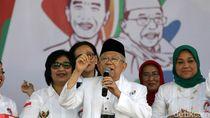 Ungkapan Bangga Maruf Amin Dampingi Jokowi