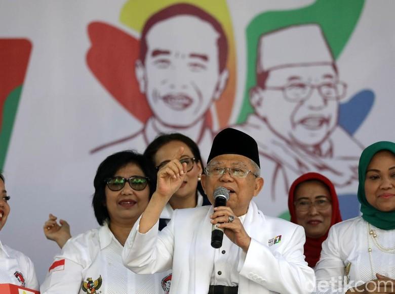 Maruf Amin: Zaman Jokowi Kasus HAM Dapat Perhatian