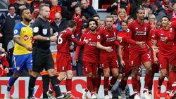 Hasil Liga Inggris: Bungkam Southampton, Liverpool Puncaki Klasemen