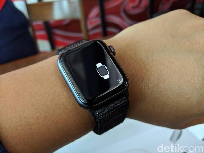 Apple Watch series 4. Foto: detikINET/Adi Fida Rahman