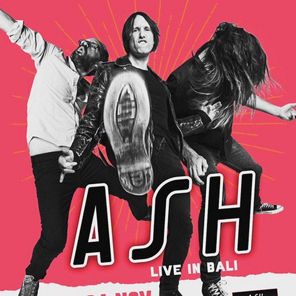 Burn Baby Burn! Ash Bakal Gelar Konser di Bali