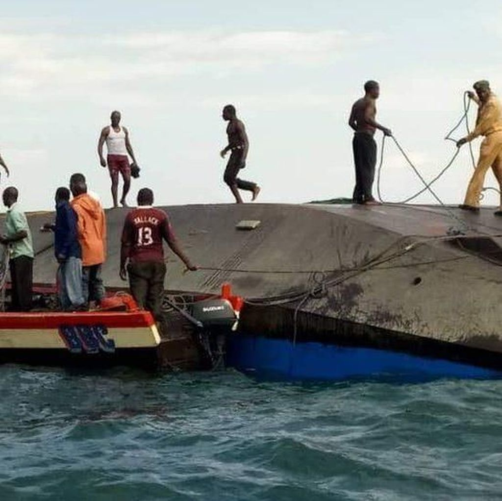 Kapal Feri Tenggelam di Danau Victoria, 126 Orang Meninggal Dunia