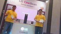LG Boyong Jajaran Proyektor CineBeam Anyar