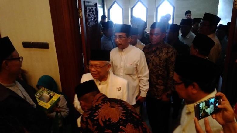 Maruf Amin Resmi Mundur dari Rais Aam PBNU