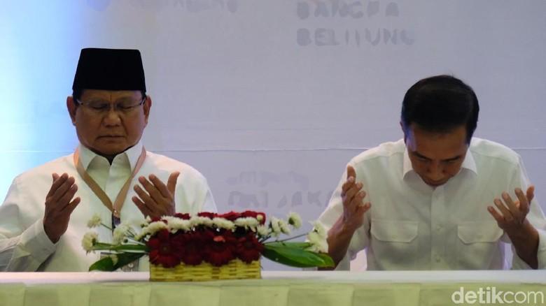 Survei Alvara: Jokowi-Maruf 54,3%, Prabowo-Sandi 35,1%