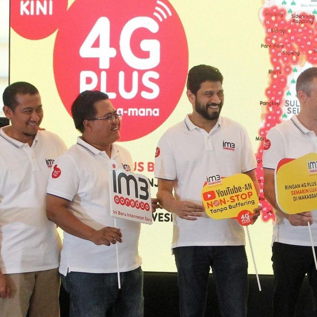 Indosat Perluas Jaringan 4G Plus ke Sulawesi Selatan