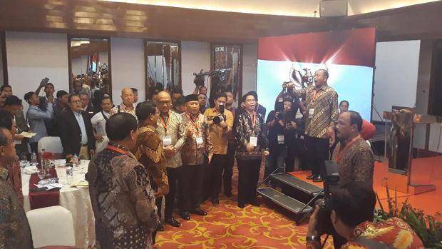 Prabowo  tak menyangka mendapat dukungan dari para purnawirawan jenderal TNI.
