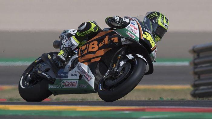 Cal Crutchlow tercepat di latihan bebas ketiga MotoGP Aragon. (Foto: Mirco Lazzari gp/Getty Images)