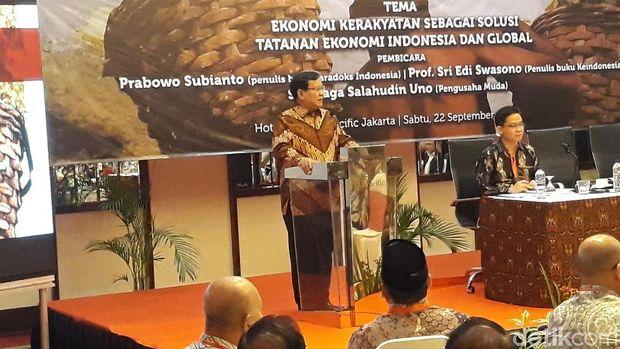 Kelakar Prabowo Susi Bakal Direshuffle Sebut Negara Rugi Rp 2.000 T