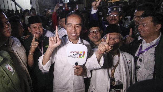 Ma'ruf Yakin Tak Mungkin Dirinya Jadi Alat Politik Jokowi