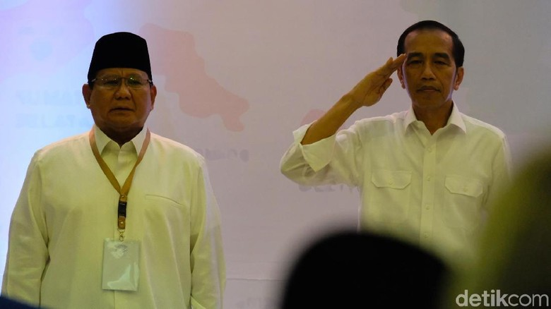 Saling Serang Kubu Jokowi-Prabowo Jelang Debat Perdana