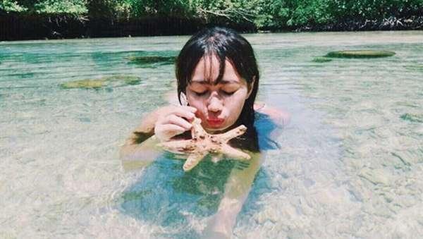 Ratu Felisha Seksi Liburan di Derawan