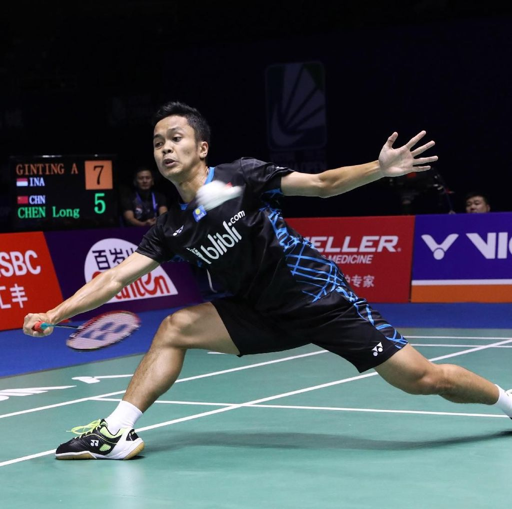 Atasi Chou Tien Chen, Anthony ke Final China Terbuka