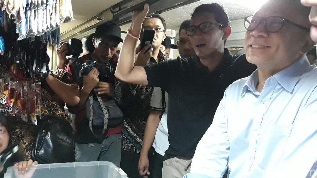 Pedagang di Solo ke Sandi dan Zulkifli: Tolak Impor Beras