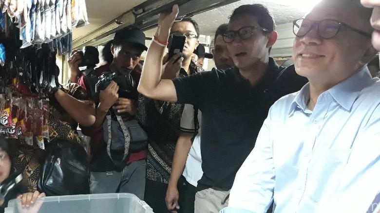 Kata Sandiaga Soal Saling Balas Nyanyian Politik Potong Bebek Angsa