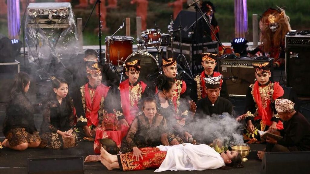 Drama Musikal Meras Gandrung Awali Jazz Gunung Ijen
