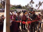 TNI Bantu Korban Gempa NTB Lewat Trauma Healing hingga Bangun Rumah