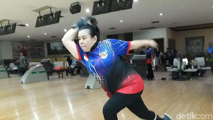 Peboling Indonesia di Asian Para Games 2018 Elsa Maris (Bayu Ardi Isnanto/detikSport)