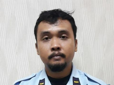 Oknum sipir yang ditangkap tim BNN.