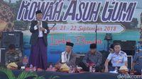 Bupati Lombok Barat, Fauzan Khalid saat memberikan kata sambutan