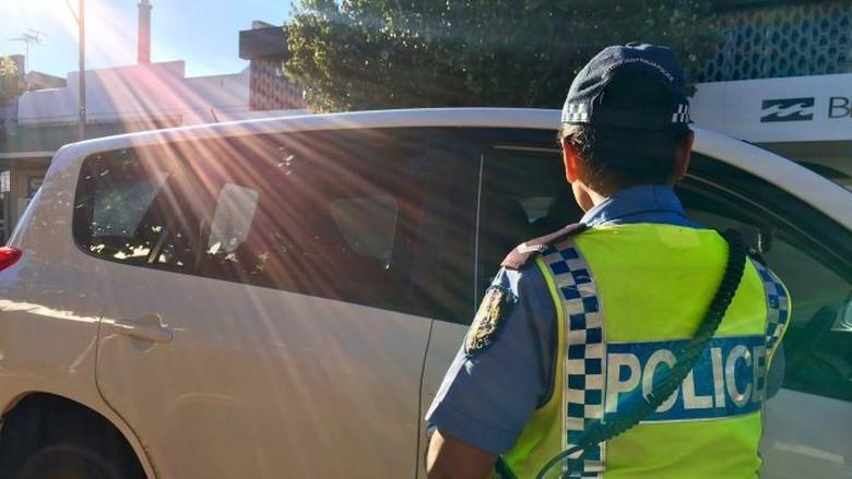 Skuter Mobilitas Dicurigai Dipakai Menghindari Pemeriksaan Polisi