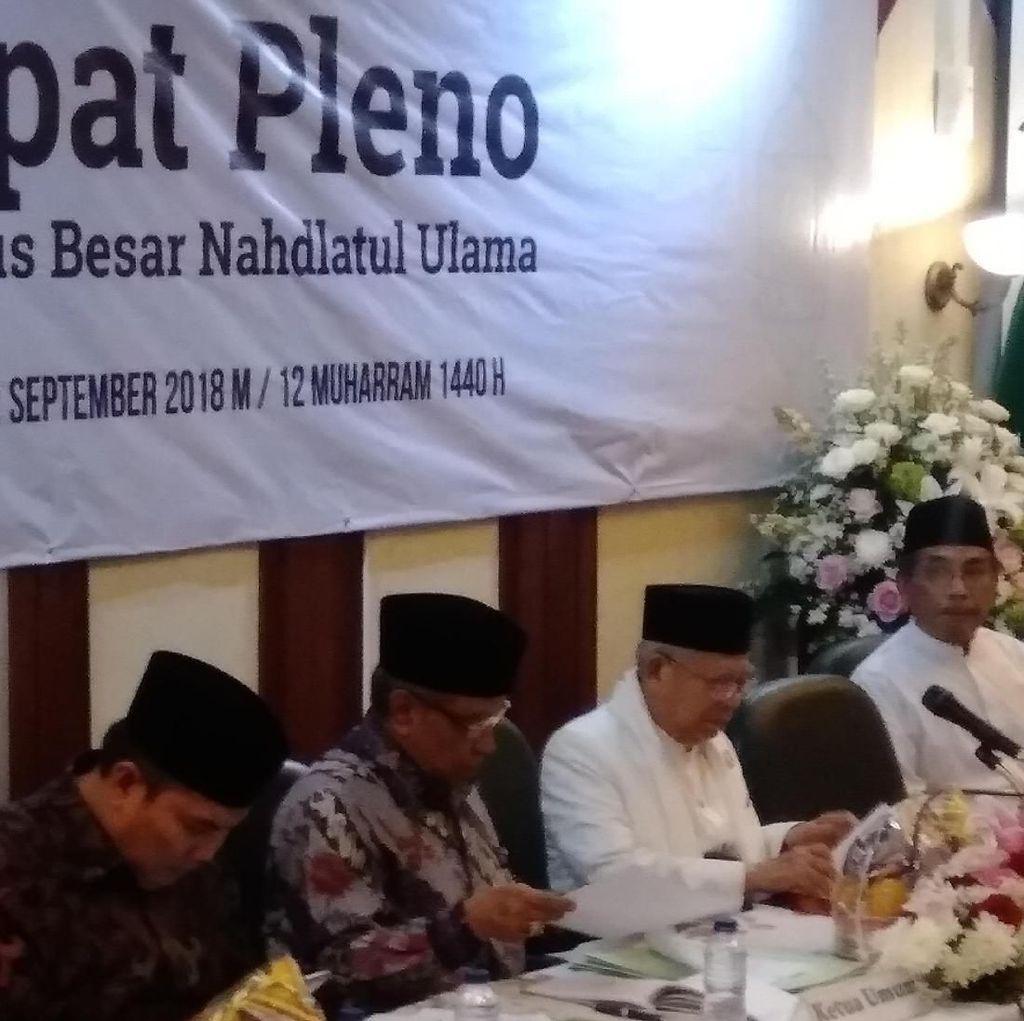 Cerita Maruf Amin Beratnya Putuskan Mundur sebagai Rais Aam PBNU