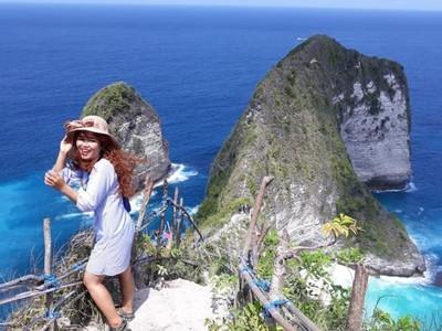 Surga Dari Nusa Penida Bernama Pantai Kelingking