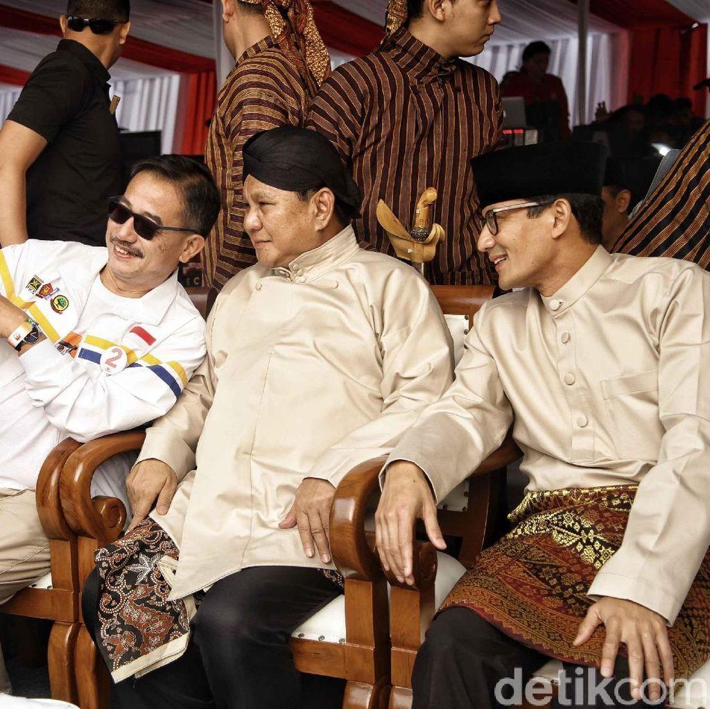 Prabowo-Sandiaga Uno 2 Hari Kampanye di Jatim, Apa Kegiatan Mereka?