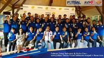 Sinergi Wonderful Indonesia dan Timnas Futsal untuk Mendunia