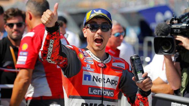 Jorge Lorenzo jadi rekan Marc Marquez di MotoGP 2019.