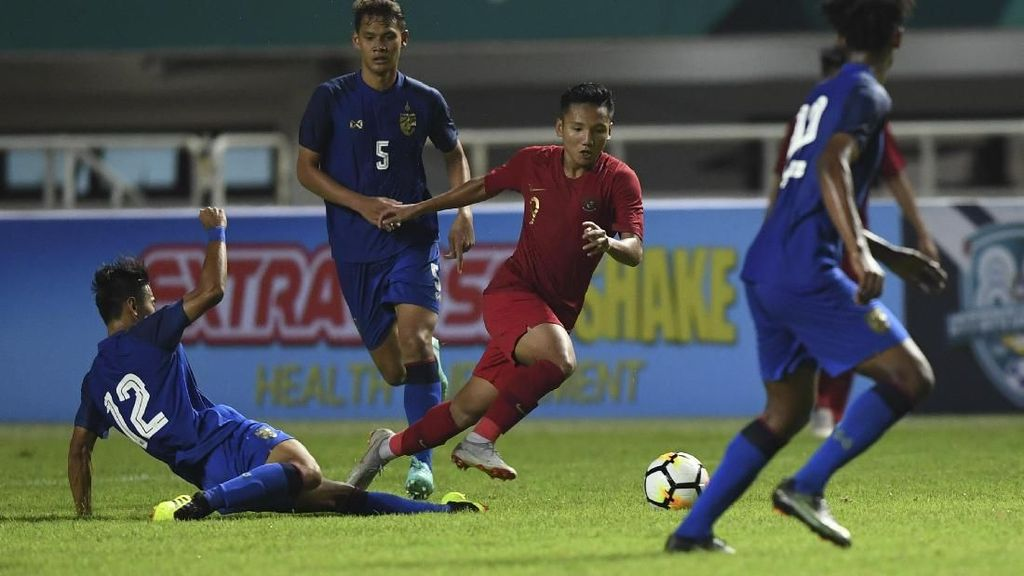 Timnas Indonesia U-19 Tahan Thailand di Turnamen PSSI Anniversary Cup