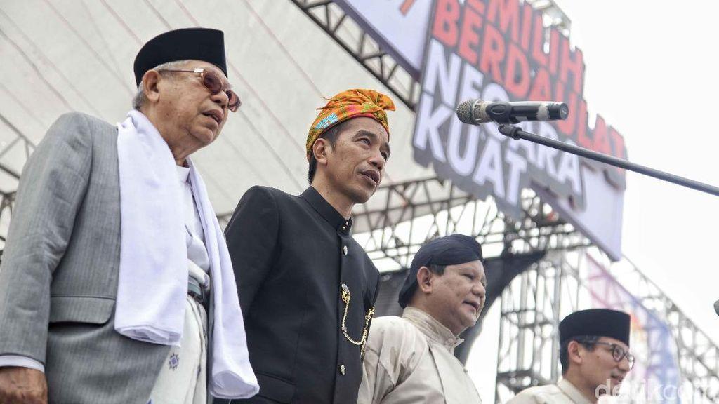 Membandingkan Visi-Misi Jokowi-Ma'ruf dan Prabowo-Sandiaga