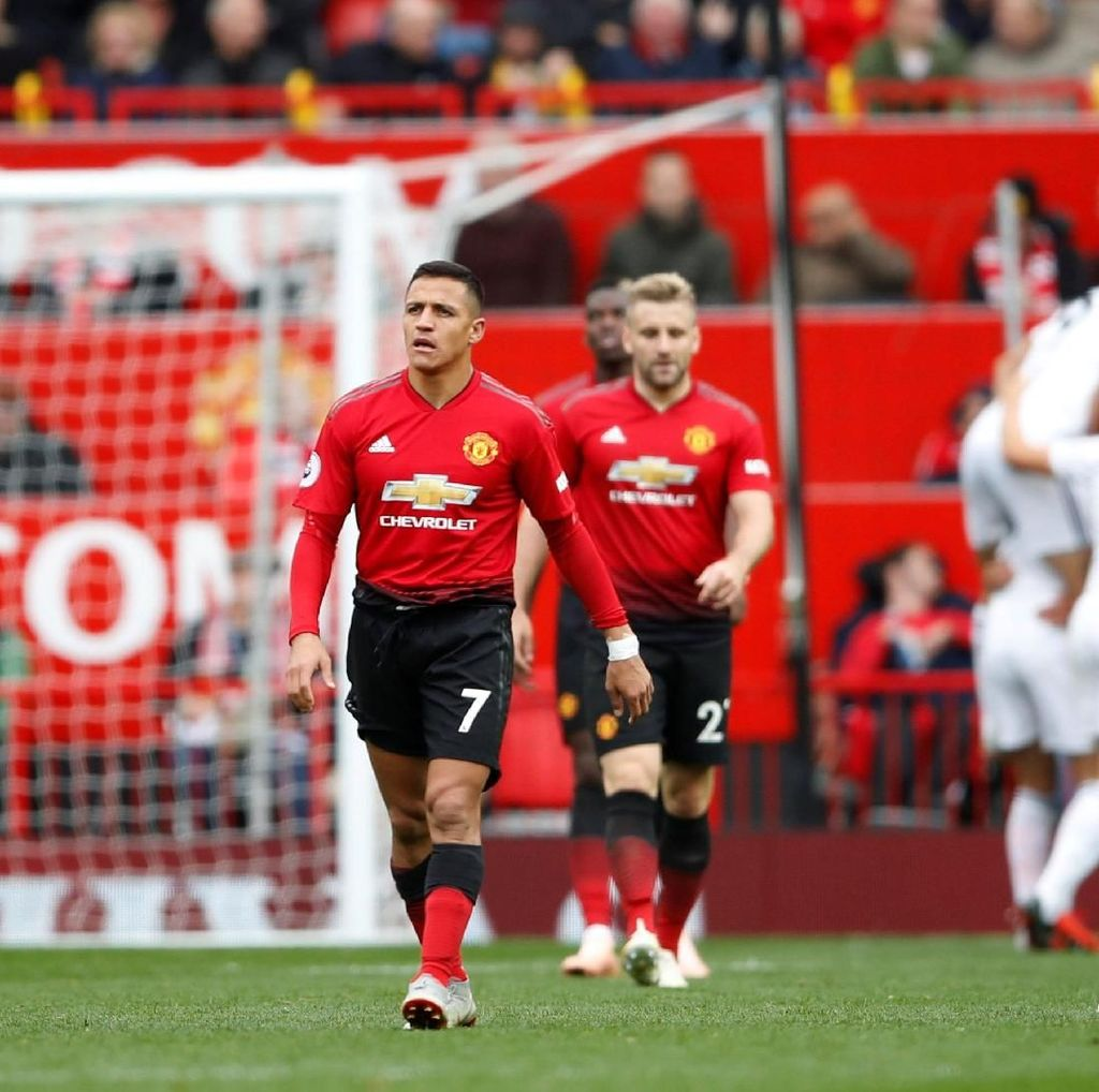 Manchester United Tersandung Lagi di Old Trafford