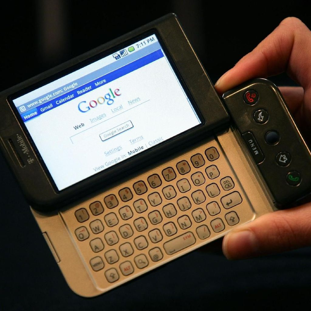 Ponsel-ponsel Jadul Saat Android Baru Lahir