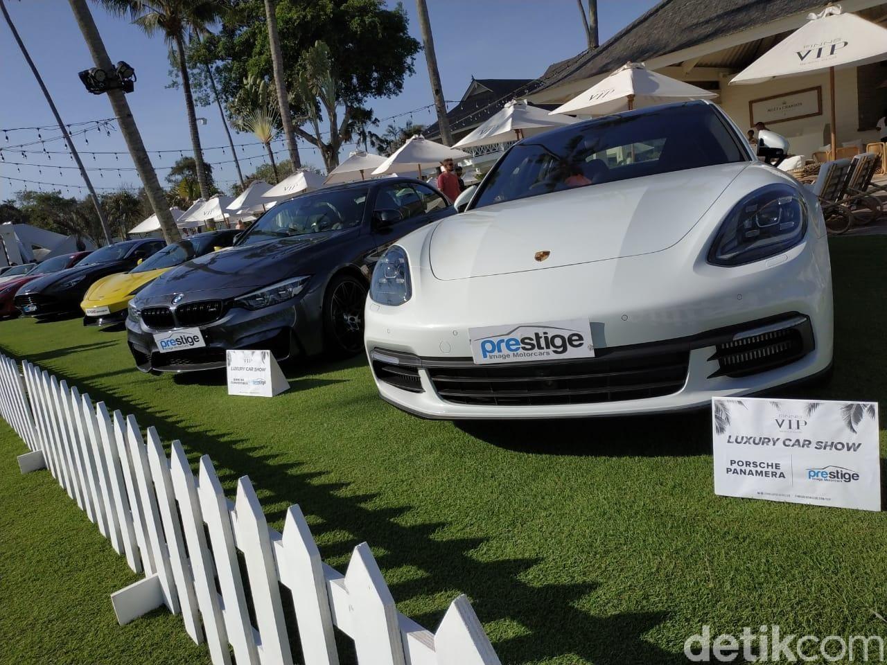 Ilustrasi saat Prestige Pamer Mobil Mewah di Bali