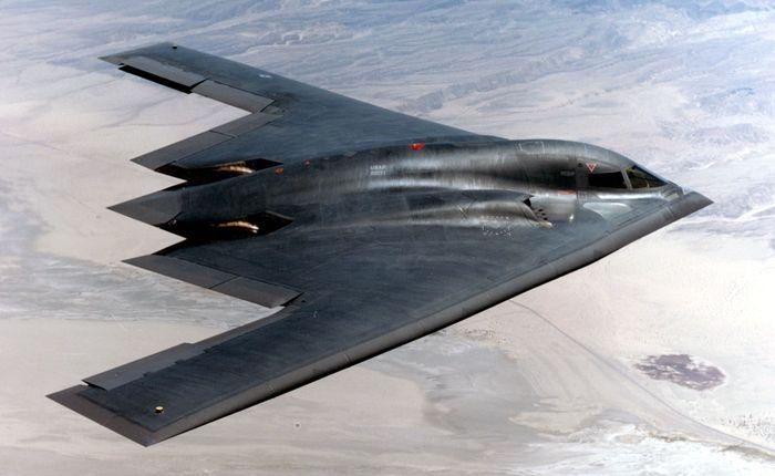 Pesawat siluman B-2 Spirit menjadi pesawat militer paling mahal produksi AS, yakni US$ 737 juta atau Rp 10,6 triliun (kurs Rp 14.500). Istimewa/financesonline.