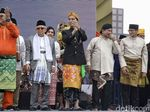 Melihat Lagi Momen Unik Deklarasi Kampanye Damai di Monas