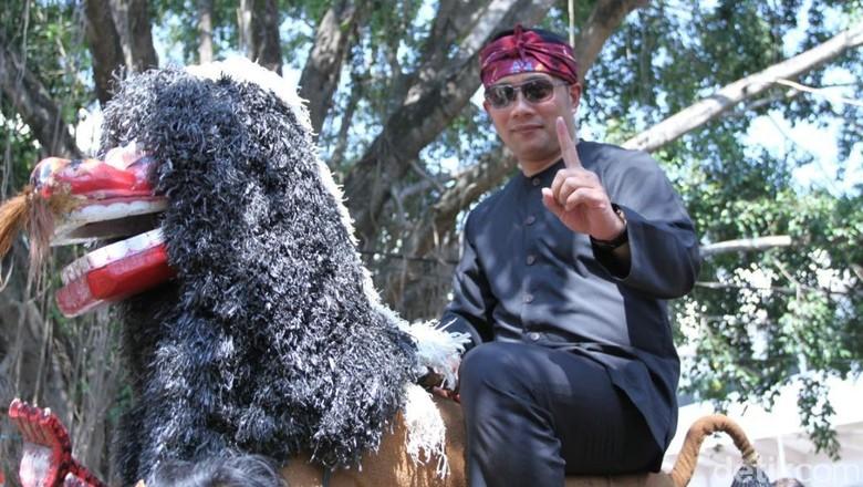 Ridwan Kamil-Maruarar Mulai Kampanyekan Jokowi-Maruf di Jabar