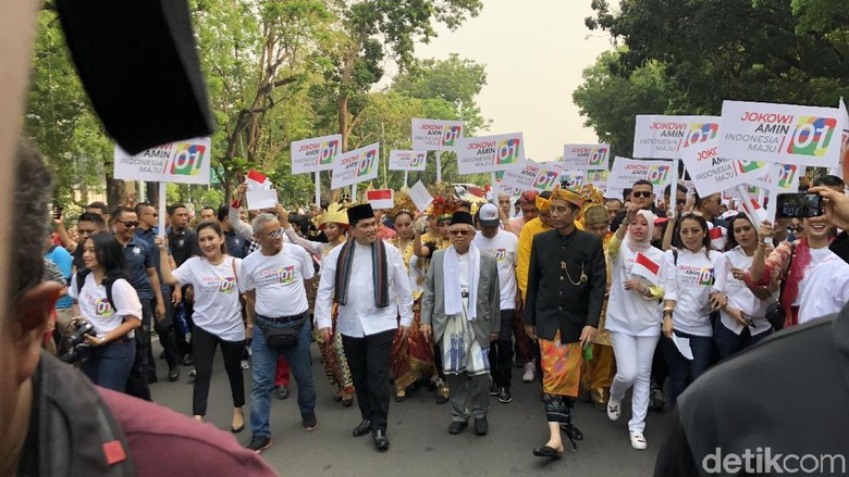 Tagline Kampanye Pasangan 01: Jokowi-AminIndonesia Maju