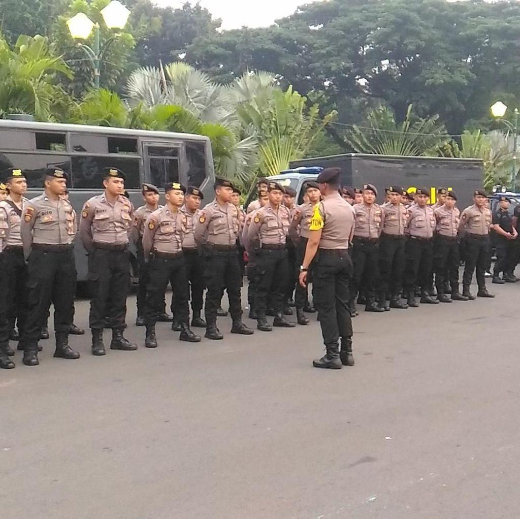 Personel Gabungan TNI-Polri Mulai Berjaga Jelang Kampanye Damai