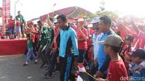 Semarakkan Asian Para Games, Atlet Disabel Diajak Senam Bersama