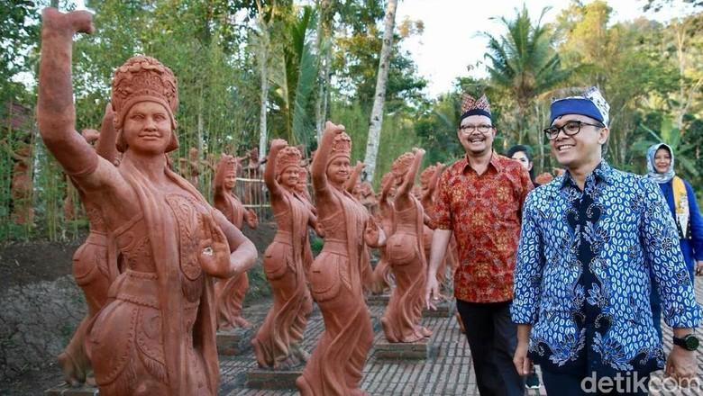 Taman Gandrung Terakota, Wisata Anyar di Kaki Gunung Ijen