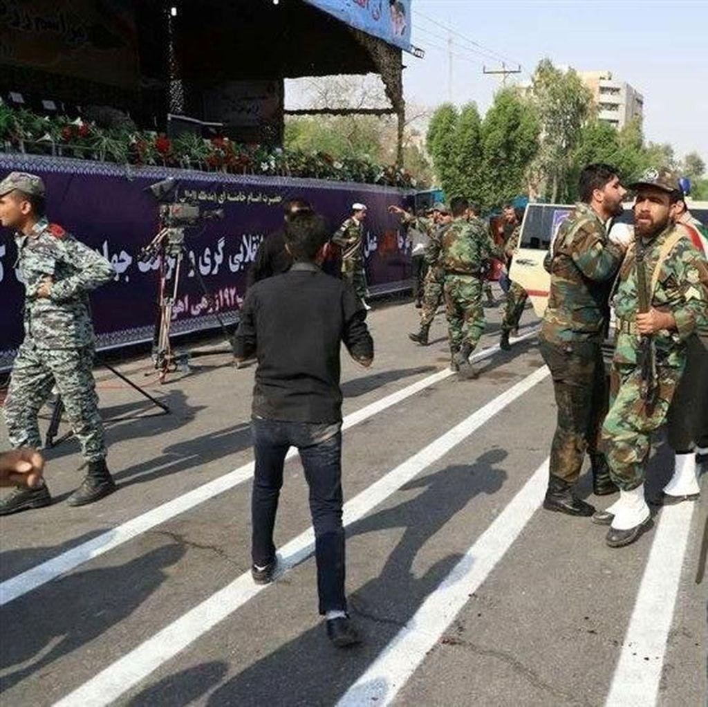Korban Tewas Serangan Parade Militer Iran Bertambah Jadi 29 Orang