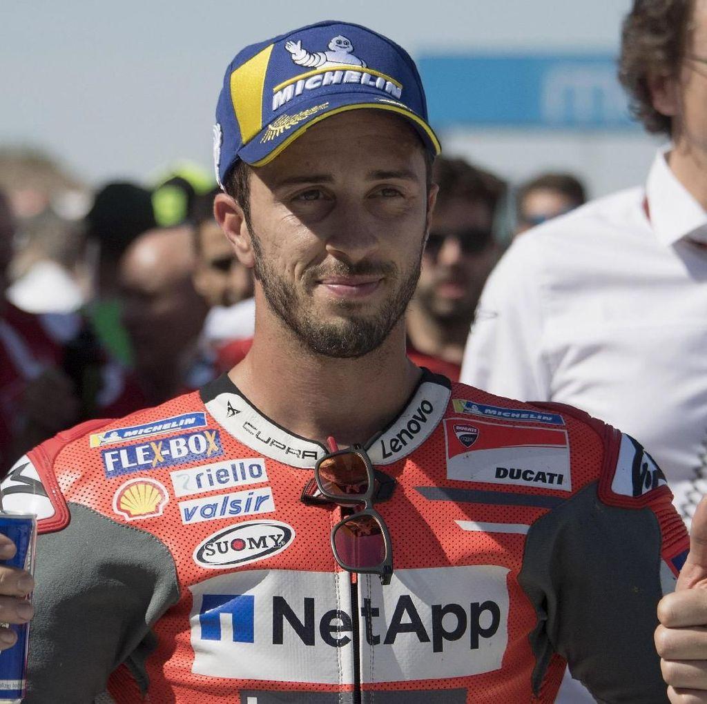 Bisa Bertarung dengan Marquez Sudah Mengejutkan untuk Dovizioso