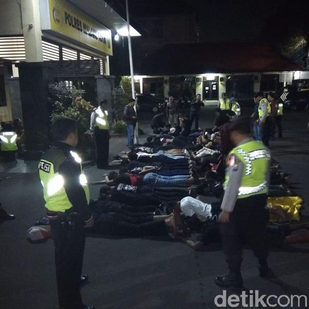 Konvoi Rombongan Silat Bikin Ricuh, Polisi Amankan 42 Orang