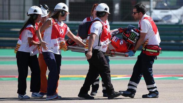 Jorge Lorenzo terancam tidak bisa mengikuti MotoGP Thailand.