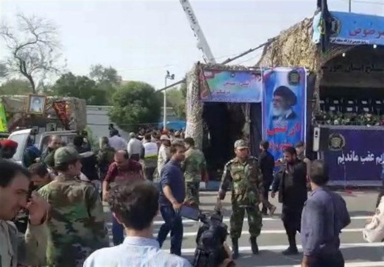 Presiden Iran Salahkan AS Terkait Serangan di Parade Militer
