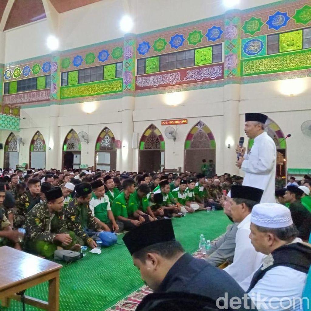 Sempat Ditolak, Zikir Kebangsan GP Ansor di Riau Berjalan Lancar