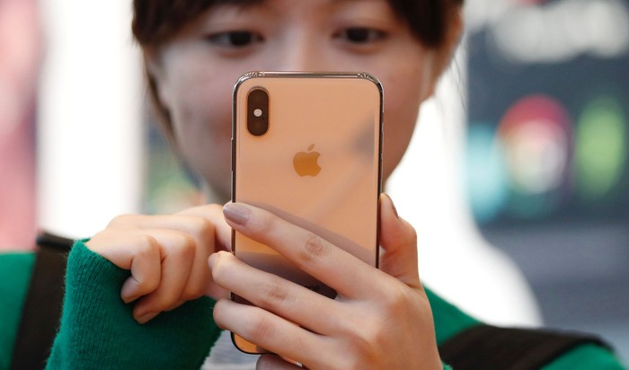 iPhone XS. Foto: Issei Kato/Reuters